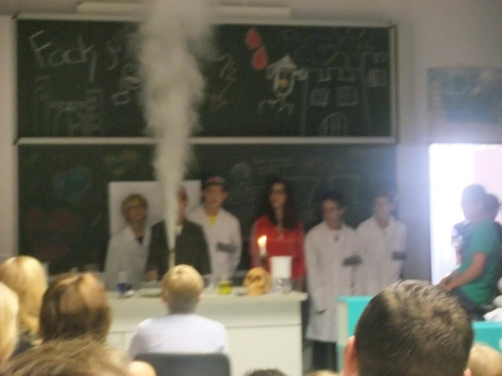 """Die Chemie-Show """"Fack you Frankenstein"""""""